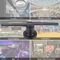 3D LED Wifi Werbung Hologramm Projektor Fan Hologramm Holographische Display-Player Werbung mit SD Wifi