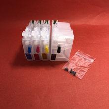 Yotat 1 комплект lc3619xl многоразовый чернильный картридж lc3619