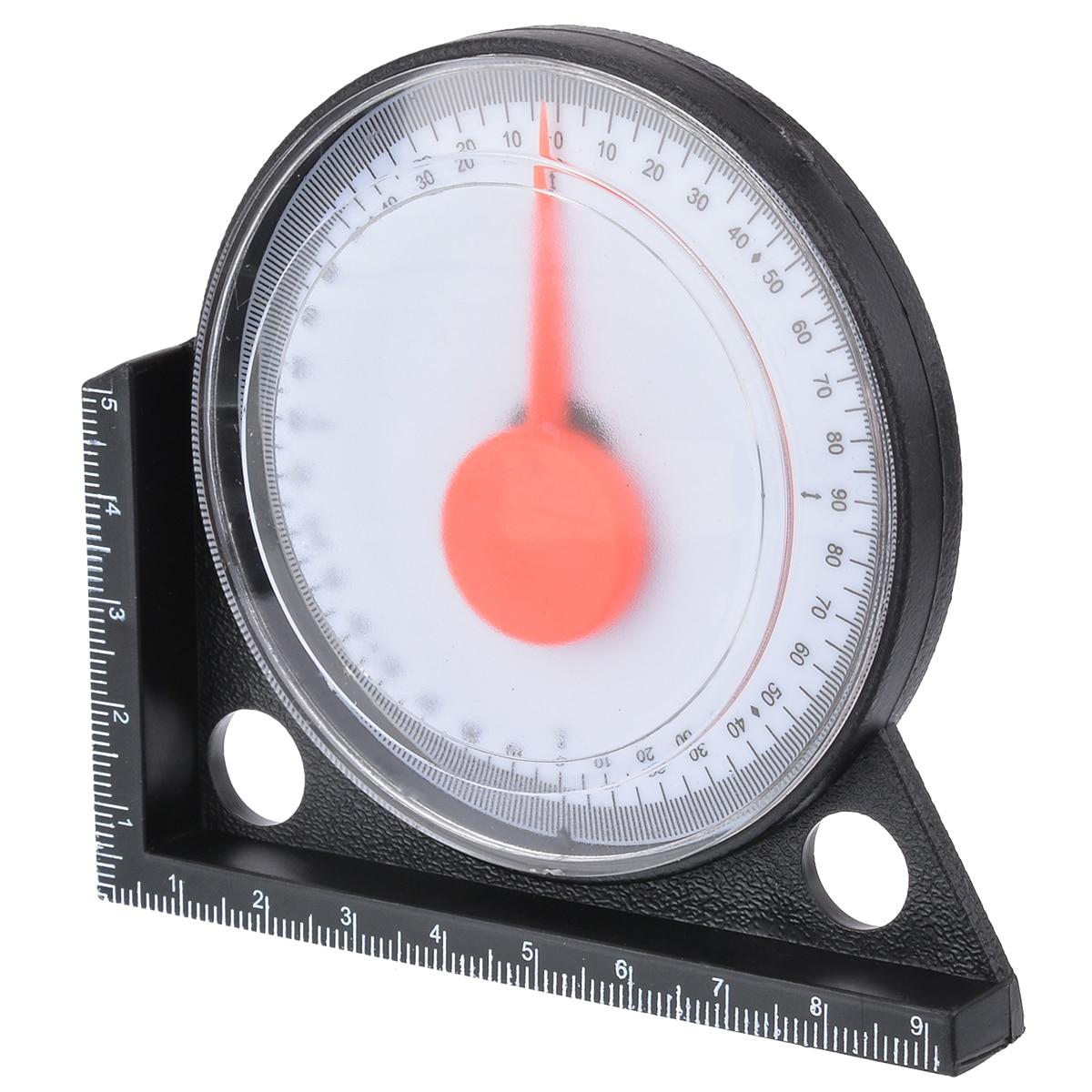 1pcs Measuring Inclinometer Slope Angle Finder Protractor Tilt Level Meter Clinometer Gauge Gauging Tools