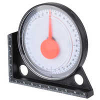 1pcs Measuring Inclinometer Slope Angle Finder Protractor Tilt Level Meter Clinometer Gauge Gauging Tools