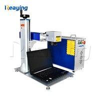 Low price laser marker 20W 30W cnc fiber portable mini color fiber laser marking machine for metal