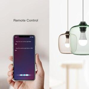 Image 4 - Koogeek Smart Light Dimmable White LED WiFi Light Bulb Smart Home Voice/Remote Control For Alexa/Apple HomeKit/Google Assistant