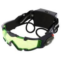 Охотничьи ночные видения регулируемая эластичная лента очки ночного видения очки с зелеными линзами