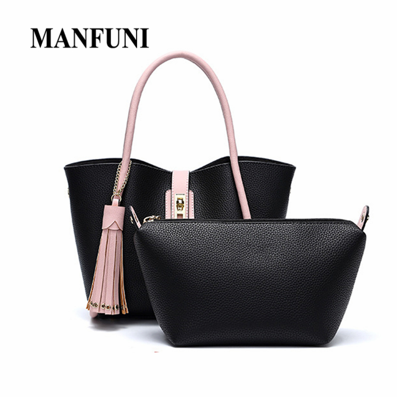 Shouder Bags For Women Fashion Pu Leather Tassel Panelled Composite Bags Females Messenger Bag Crossbody Shoulder Bags LadiesShouder Bags For Women Fashion Pu Leather Tassel Panelled Composite Bags Females Messenger Bag Crossbody Shoulder Bags Ladies