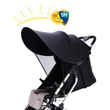 Baby Stroller Sunshade Cover Anti-UV Universal Infant Full Canopy Mosquito Net Sun Shield Protection Fabric Accessories