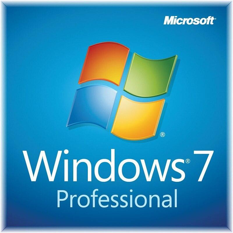 Microsoft Windows 7 professionnel 32/64 bit boîte de vente au détail produit clé Code Support téléchargement numérique - 2