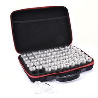 60 Slots Diamond Embroidery Box Diamond Painting Accessory Case Clear Plastic Beads Display Storage Boxes Zipper Design