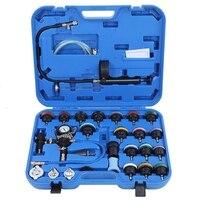 28 шт Автомобильный резервуар для воды герметичности охлаждения Системы детектор Tool Kit Автомобили резиновые нейлон гаражные инструменты ун