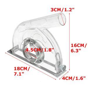 Image 3 - Meuleuse dangle coupe couvercle anti poussière Transparent pour meuleuse 4/ 5