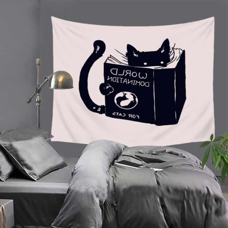 愛パンダ子供のウォールタペストリー漫画デコ背景布子供の寝室タペストリー天井カーテンショール 230x180 センチメートル