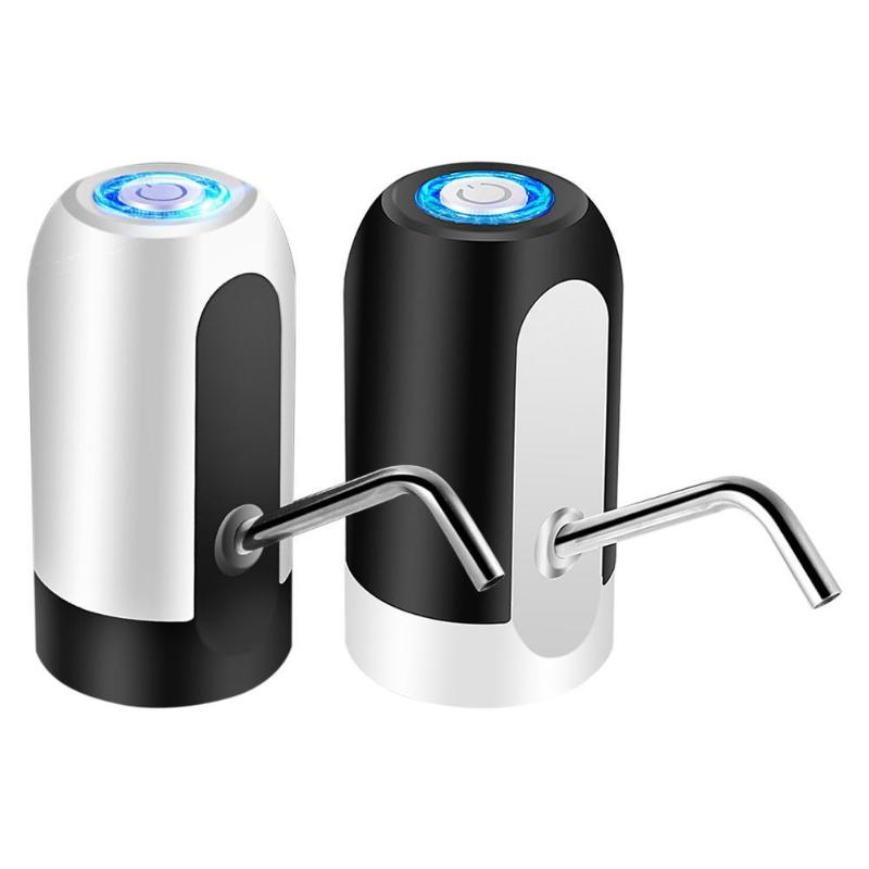 Portable USB Cable Electric Drinking Water Pump Universal Gallon Bottled Water Dispenser Switch Quantitative Pumping Dispensador