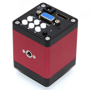 Image 4 - Version 14Mp Hdmi Vga Hd Industry 60F/S Video Microscope Camera 8~130X Zoom C Mount Lens + Remote Control(Us Plug)