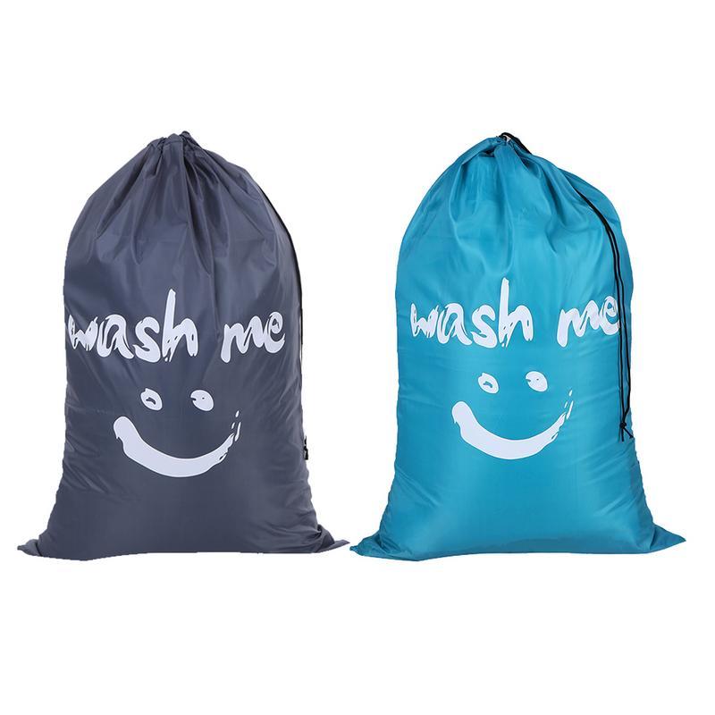Quilt Storage Bag Smiling Face Nylon Drawstring Laundry Bag Waterproof Dustproof Home Wardrobe Finishing Pouch Large CapacityQuilt Storage Bag Smiling Face Nylon Drawstring Laundry Bag Waterproof Dustproof Home Wardrobe Finishing Pouch Large Capacity