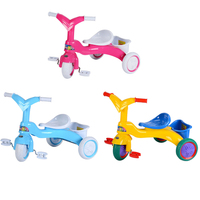 Infant Baby Tricycle Balance Bike Walker Kids Ride On Toy Gift for 3 5 Years Old Children for Learning Walk Scooter