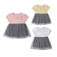 Summer Baby Girl Flower Sundress Toddler Kids Lace Wedding Princess Party Dresses Children Clothing Cotton Vestidos Tutu