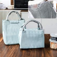 8a32a018cd3bfc Lunch Bag Oxford Cloth Aluminum Foil Thickened Insulated Bag Portable Insulation  Bag Waterproof Insulated Pack(