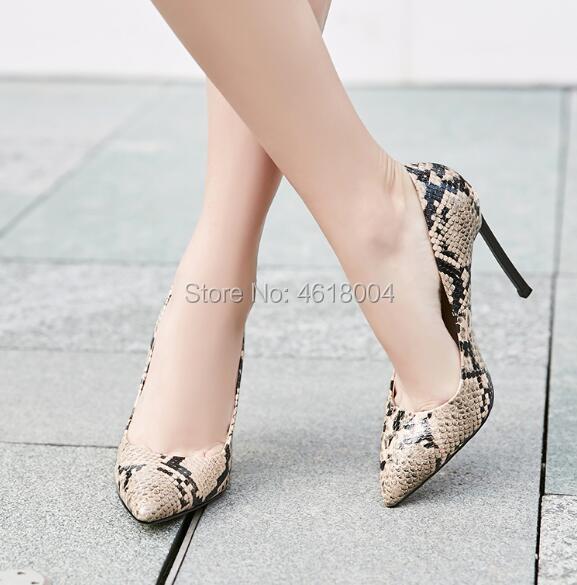 Pompes Métal Python Hauts Pointu Cm Relief 12 Cuir Chaussures Cm Robe Escarpins Femmes En Bout Serpent Kalmall Talons 12 4Rgxf
