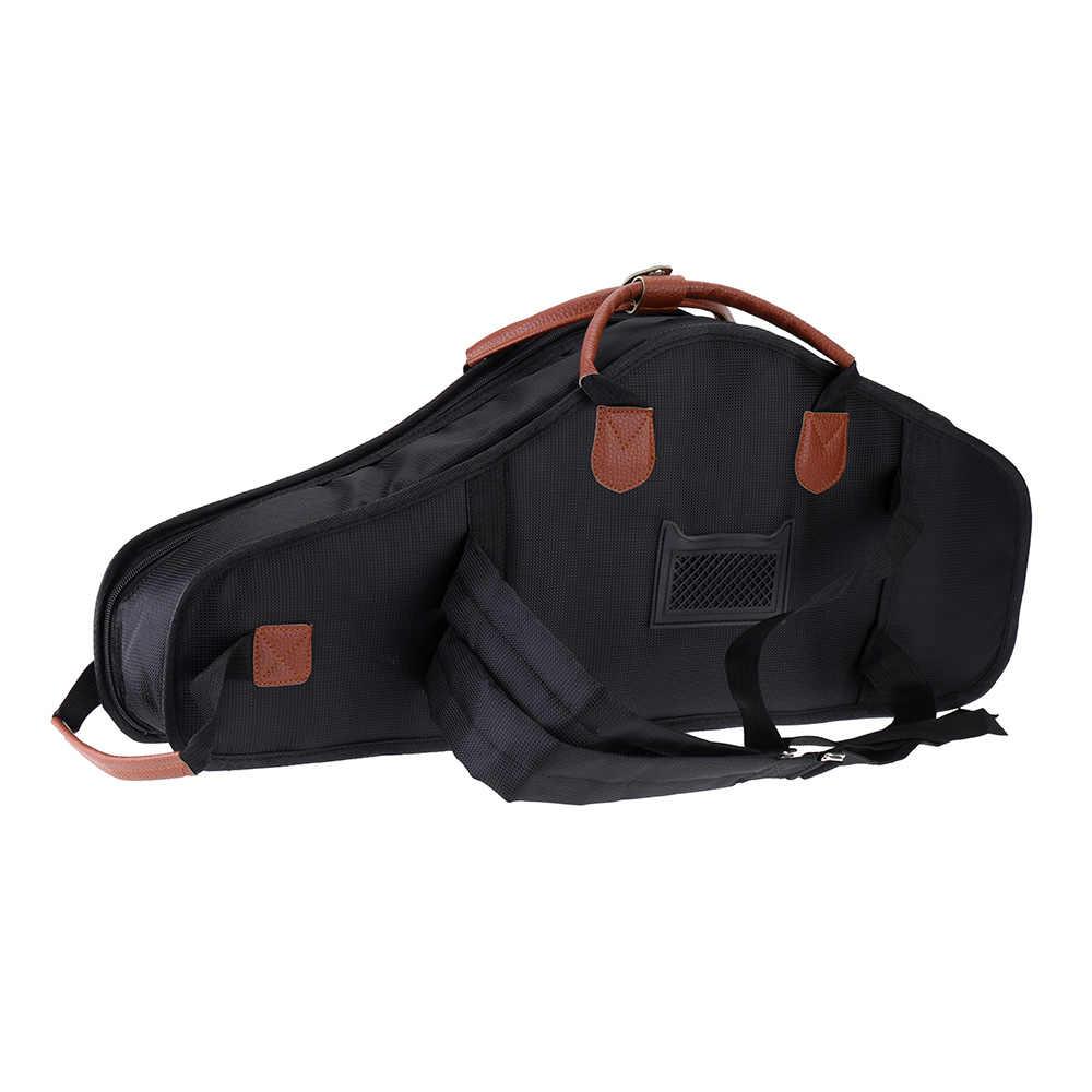 1680D водостойкая оксфордская тканевая сумка с хлопковой подкладкой усовершенствованные ткани Sax мягкий чехол регулируемый плечевой ремень для альт-саксофона