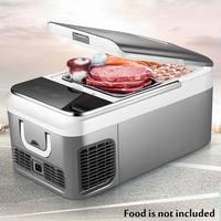 18L автомобильный холодильник Компрессор DC 12 В 240 в автомобильный холодильник морозильник для автомобиля домашний Пикник Холодильный морози