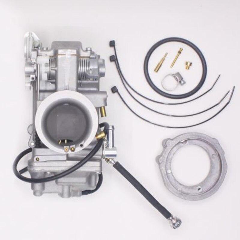 Carburateur Kit Pour Mikuni Type HSR42 HSR45 HSR48 Harley EVO Evolution Twin Cam Carburateur pour la voiture vélo moto Motocross