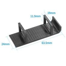JMT Battery Holder Protection Seat Black TPU 3D Printed Prin