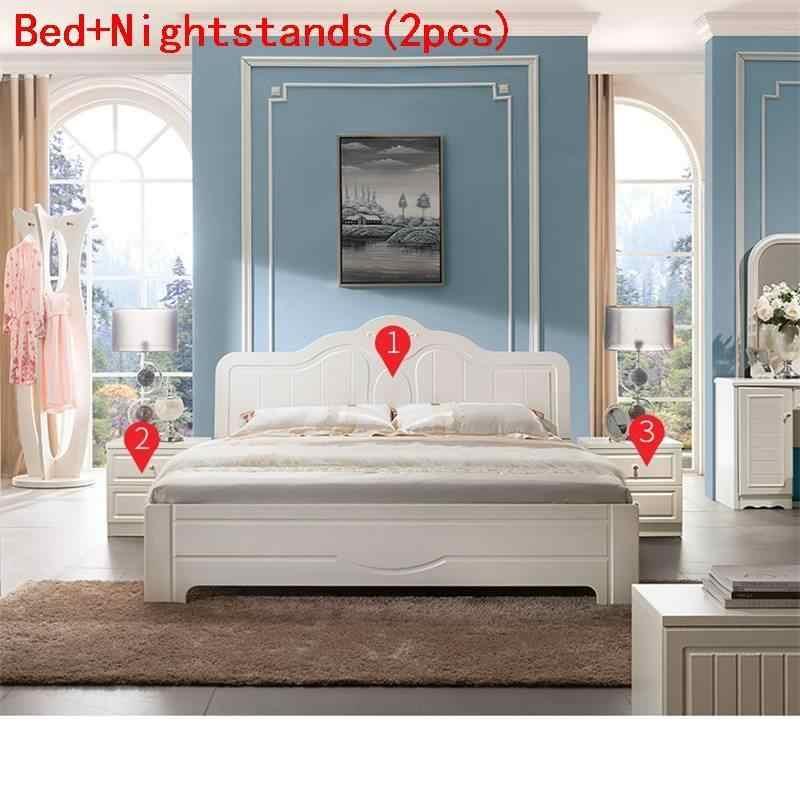 Recamaras Set Mobilya Room Letto A Castello Modern Kids Frame Quarto bedroom Furniture Mueble De Dormitorio Cama Moderna Bed