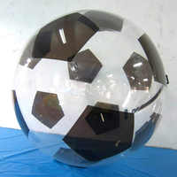 Free Shipping Water Walking Ball Toy Ball With Tpu 1.0mm And Germany Tizip Zipper Of 2m Diameter For 1-2 Persons For Dance
