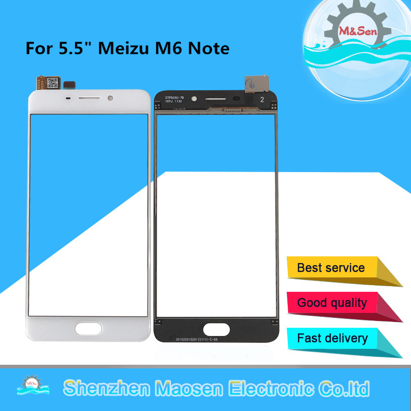 Original M&Sen For 5.5 Meizu M6 Note Touch Panel Screen Digitizer For Meizu M6 Note Front Glass Touch Screen Sensor DigitizerOriginal M&Sen For 5.5 Meizu M6 Note Touch Panel Screen Digitizer For Meizu M6 Note Front Glass Touch Screen Sensor Digitizer