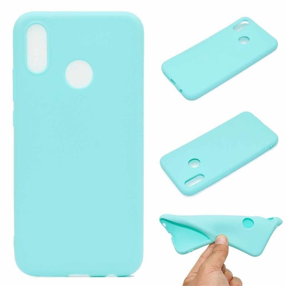 Funda de teléfono de silicona Multicolor para Huawei Mate 20 P30 lite Pro Y6 Y7 Y9 2019 Honor 8A 8X 8C 7C P20 P 10 Smart 2019