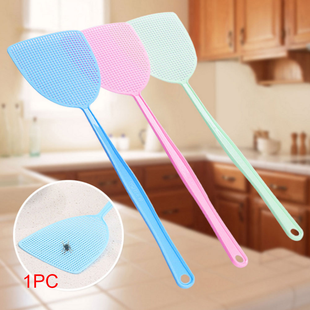 1pcs Plastic Bug Fly Swatters Insect Mosquito Wasp Pest Control Hand For Home Office