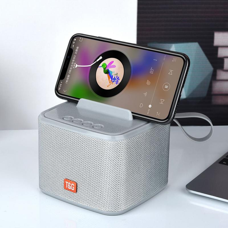 Image 5 - Portable Speaker Bluetooth Outdoor Waterproof Wireless Player Stereo Hd Sounds Sports Devices Support TF Card FM Radio Aux Input-in Portable Speakers from Consumer Electronics