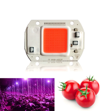 10PCS Led Grow Light Chip 20W 30W 50W Full Spectrum 380nm840nm AC220V/110V For Hydroponics Greenhouse DIY for COB Lamps