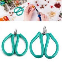 uv resin hard Portable Scissors Cutting Jewelry Tool DIY Household Jewelry Necklace Ring Bracelet Making Tool(China)