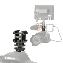 Ulanzi 0951 Hot Shoe On Camera Mount Adapter Extend Port for Canon Pentax DSLR Camera for Microphone Monitor LED Video Light