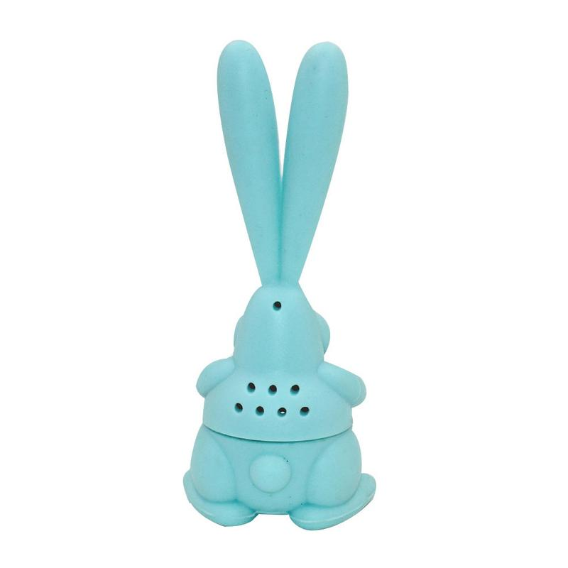 Cartoon Rabbit Tea Strainer Silicone Rabbit Tea Strainer For Mugs And Teapots Reusable Mesh Ball Tea Infusers Tea Making Device