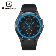 Kaimorui Smart Watch KW88 Pro Android 7.0 OS Smartwatch 1GROA + 16GRAM Support SIM Card GPS Bluetooth Watch Smart Men for IOS kw88 pro smart watch android 7 0 mtk6580 quad core watch 1g 16g smartwatch 3g sim card gps wifi bluetooth watch for ios android