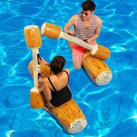 Water Entertainment Game Toy Inflatable Float Raft Chair Stick Made of environmental protection pvc. Swim Ring