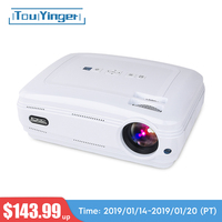 Touyinger T3 видеопроектор 3500 люмен videoprojecteur (Android Bluetooth) проектор светодиодный ТВ дома Театр Поддержка Full HD 1080 P