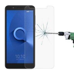 Image 1 - מגן מזג זכוכית עבור Alcatel 3 3L 2019 מסך מגן Versa U5 5V 3X3 V 3C 1X5 7 טלפון כיסוי זכוכית סרט