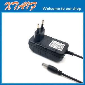 Image 2 - High Quality 6.5V 1500mA 6V 1.5A 5.5*2.5mm 2.1mm Universal AC DC Power Supply Adapter Wall Charger EU/US/UK Plug Positive inside