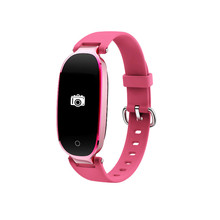 Купить с кэшбэком Color screen Fashion Smart Watch Women Smart Bracelet Clock Bluetooth Heart Rate Monitor Pedometer Sport Smartwatch