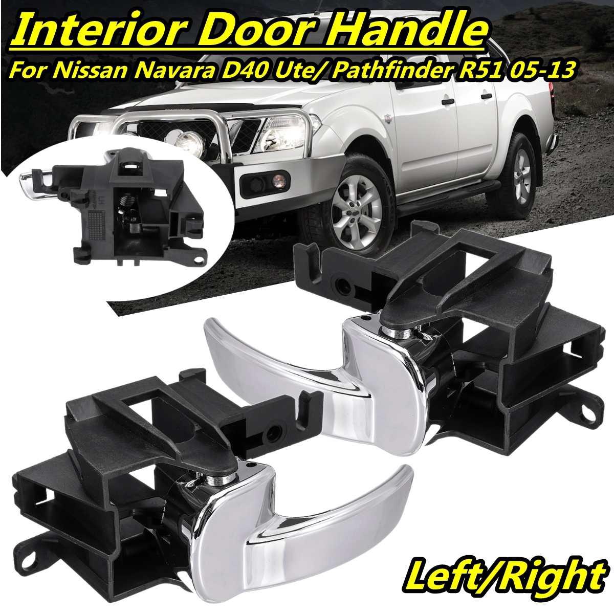 Hohe Qualität Links Griff Innen Interieur Links Hinten Oder Vorne Türgriff Für Nissan Navara D40 Ute/Pathfinder R51 2005-2013