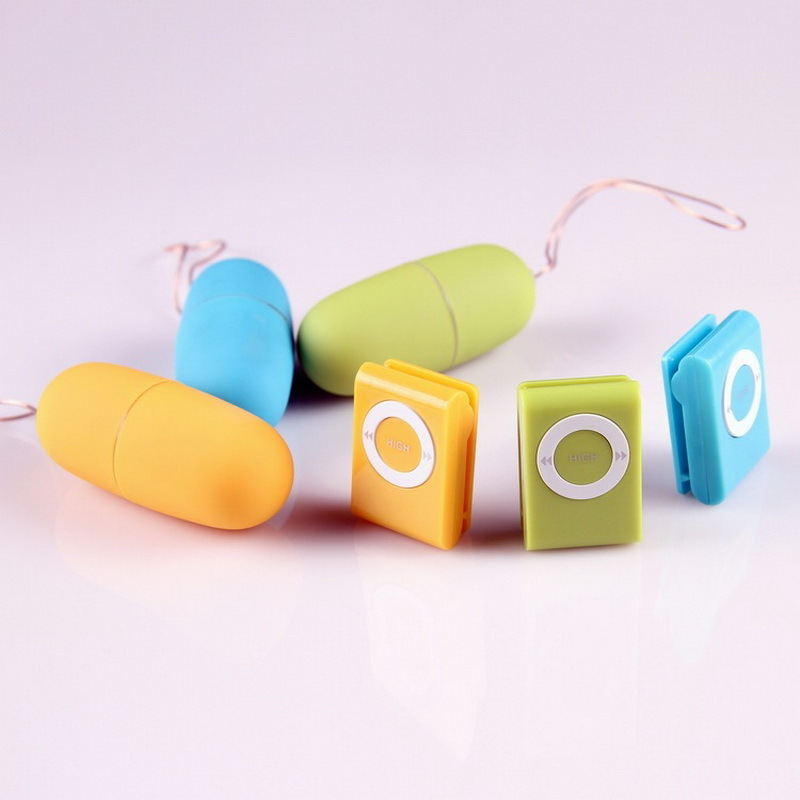 SEAFELIZ Waterproof Portable Wireless  MP3 Vibrators Remote Control Women Vibrating Egg Body Massager Sex Toys Adult Products