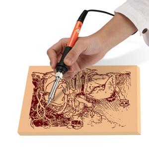 Image 2 - Ensemble de stylos de soudage électrique 110V/220V, 60W, 45 pièces, fer à souder électrique