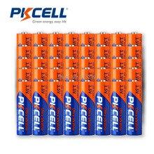 50個LR6単三電池1.5v AM3 E91 MN1500 LR6アルカリ乾電池一次電池優れたR6P 2A batteriaリモート制御