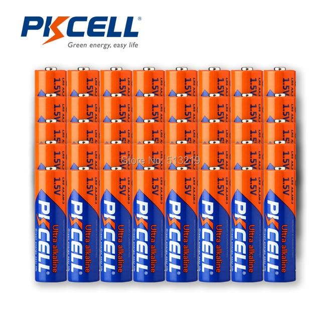 50 adet LR6 AA pil 1.5V AM3 E91 MN1500 LR6 alkalin kuru piller birincil pil üstün R6P 2A batteria uzaktan kumanda