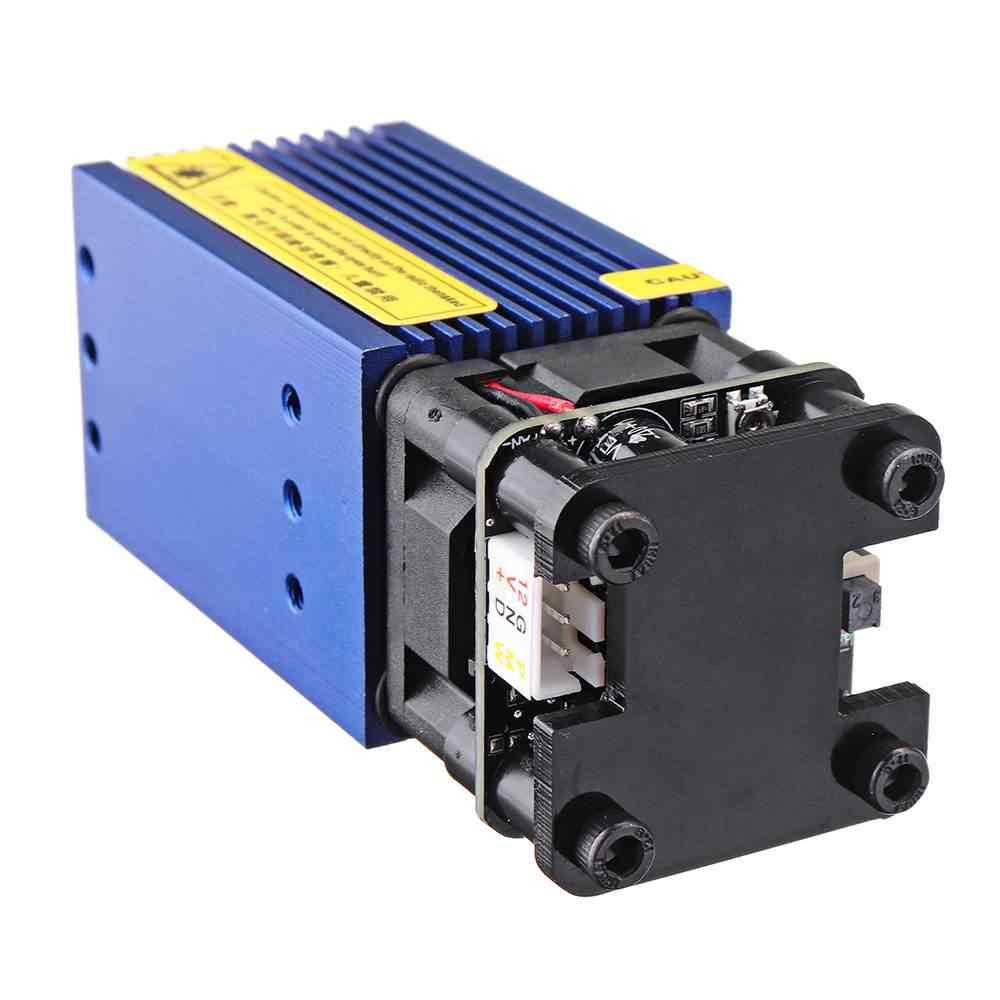 2500 MW Biru Laser Modul 3-Pin DIY Laser Engraving Modul Cocok 3018 CNC Router
