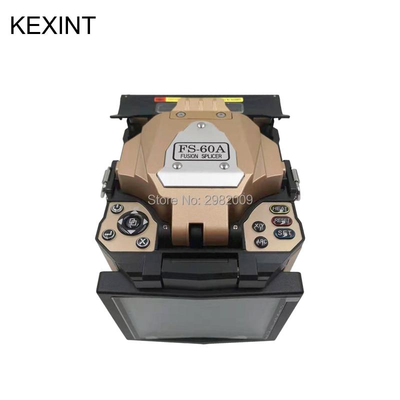 Épisseuse de Fusion de Fiber optique d'épissure de Fusion de KEXINT avec l'équipement d'épissure de Fusion d'accessoires
