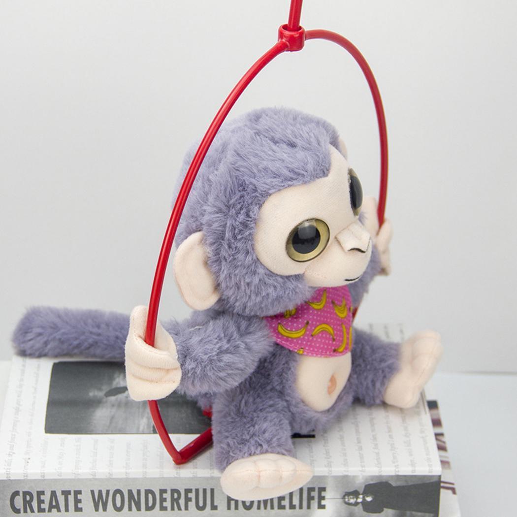 Cartoon Electronic Recording Toys Plush Talking Monkey Doll Interactive Toys Soft Birthday Gift Mimicry Pet Talking Cute Kawaii 3