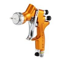 Spray Gun 1.3mm Nozzle Paint Car Wash Repair Tool High Efficiency TE20 Automotive Refinishing Golden Painting Spray Gun